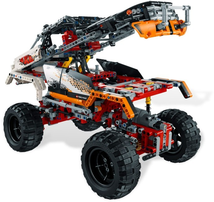 Buy 4x4 Crawler LEGO Technic (9398) on Robot Advance