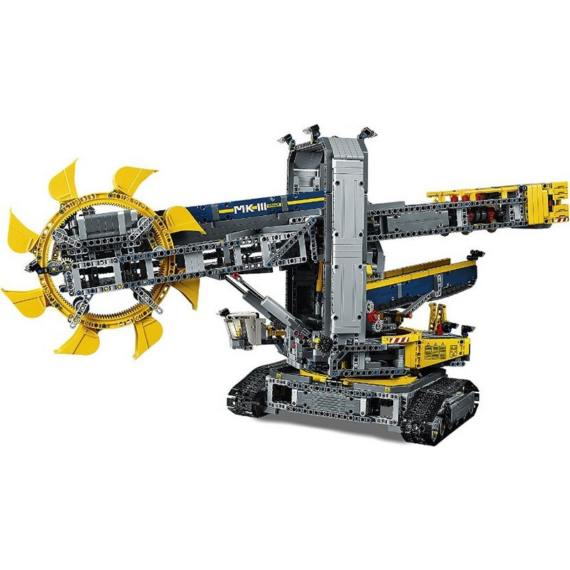 buy bucket wheel excavator lego technic 42055 on robot. Black Bedroom Furniture Sets. Home Design Ideas