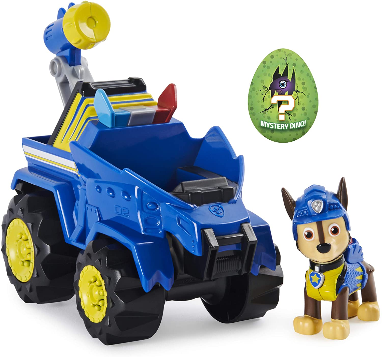 Chase Dino Rescue Paw Patrol Figurine Vehicle