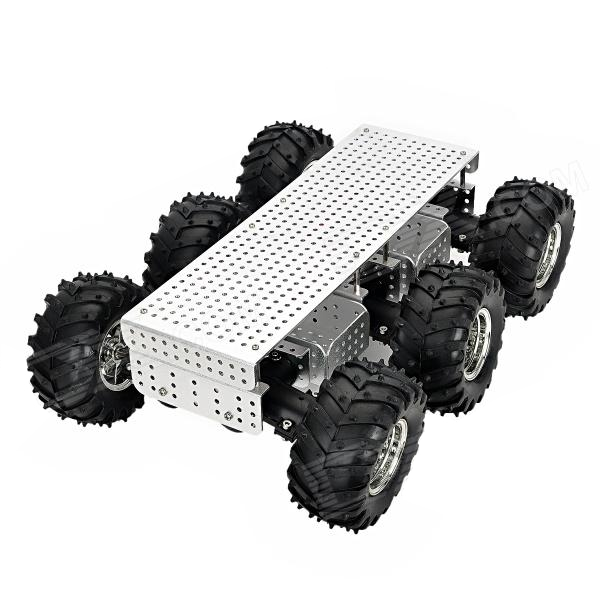 Chassis 6x6 Wild Thumper 75:1 steel gearboxes - DAGU ELECTRONICS