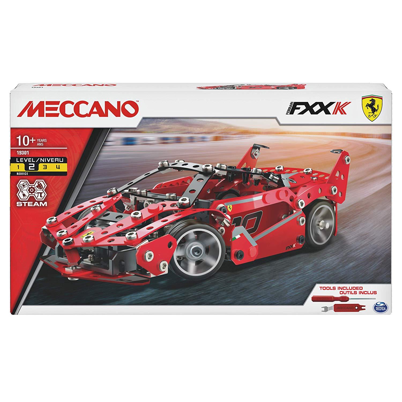 Meccano Ferrari Fxx In Metal To Build