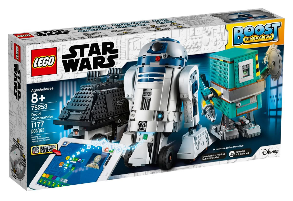 lego boost star wars droid commander 75253