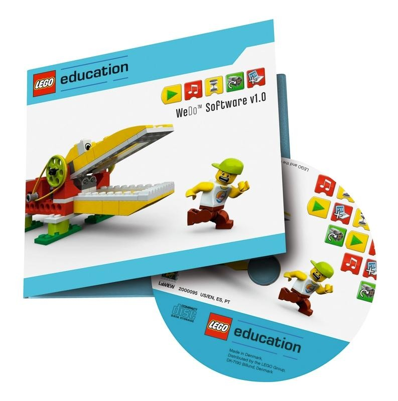 Lego Education Wedo Software V12 And Activity Pack Robot Advance