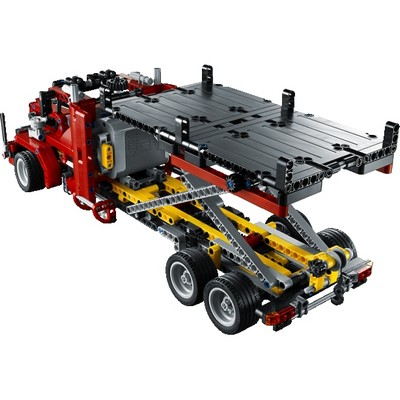 lego flatbed truck robot advance. Black Bedroom Furniture Sets. Home Design Ideas