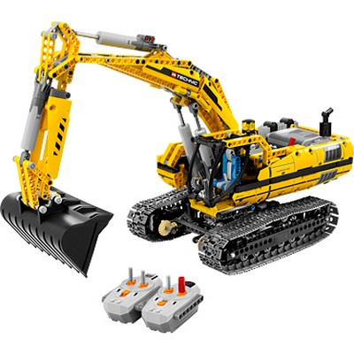 Lego: mechanized and programmable robots