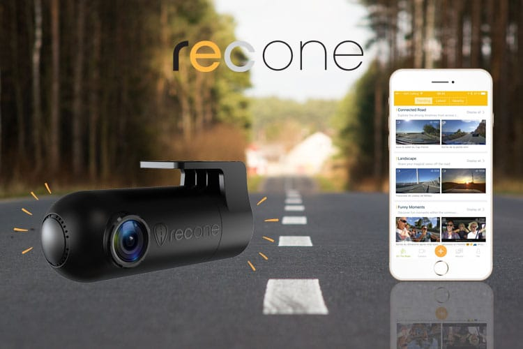 RecONE RoadEyes: connected on-board camera for cars