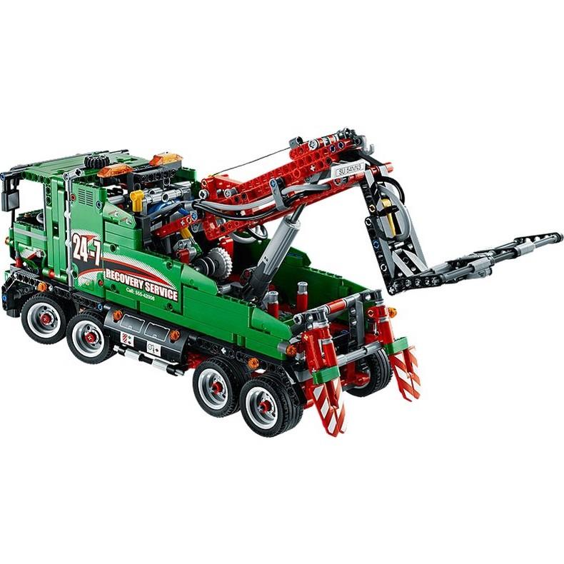 buy service truck lego technic 42008 on robot advance. Black Bedroom Furniture Sets. Home Design Ideas