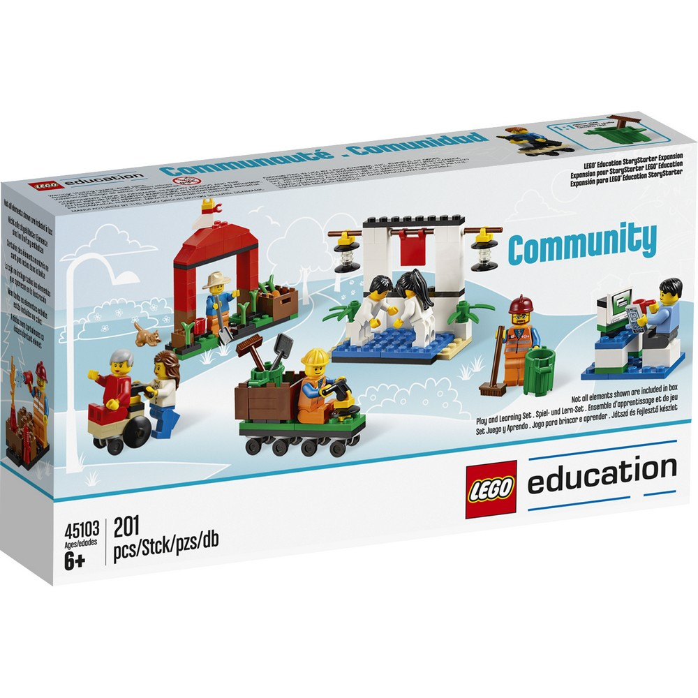 lego branding community essay Chief marketing officer julia goldin explains how the toy brand has  to reflect  society's increasing urbanization: one of the first lego sets was.