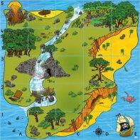 BeeBot / BlueBot Treasure Island Carpet
