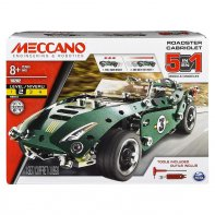 Convertible Friction Car Meccano 5 Models