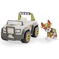Figurine And Vehicle Tracker Paw Patrol