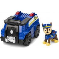 Figurine Et Véhicule Chase Paw Patrol