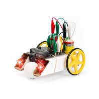 Kit robotique micro:bit : buggy et LED Kitronik