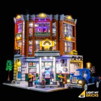 Lights For LEGO Corner Garage 10264
