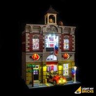 Lumières Pour LEGO Brigade Pompiers 10197