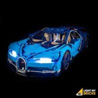 Lumières Pour LEGO Bugatti Chiron 42083