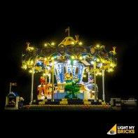 Lumières Pour LEGO Carrousel 10257