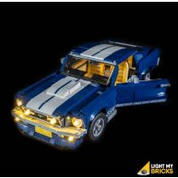 Lumières Pour LEGO Ford Mustang 10265