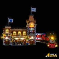 Lumières Pour LEGO Gare Disney 71044