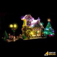 Lumières Pour LEGO Magasin De Jouet D'Hiver 10249
