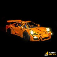 Lumières Pour LEGO Porsche 911 42056