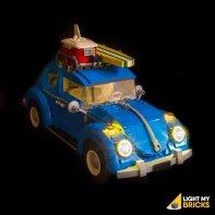 Lumières Pour LEGO Volkswagen Coccinelle 10252