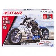Motos 5 Modèles Meccano A Construire