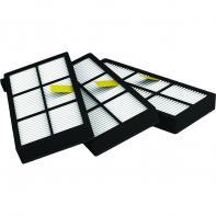 Pack De 3 Filtres AeroFroce Roomba Série 800 et 900