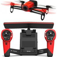 Pack Parrot Bebop Drone Rouge Extended Range Avec Skycontroller