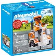Playmobil 70052 Secouriste Et Gyropode