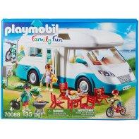 Playmobil 70088 Famille Et Camping Car