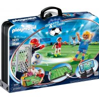Playmobil 70244 Terrain De Foot Transportable