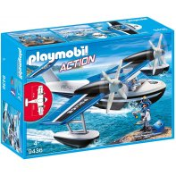 Playmobil 9436 Hydravion De Police