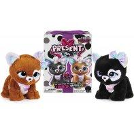 Present Pets Raimbow Glitter Interactive Plush Toy