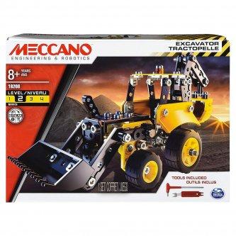Backhoe loader Meccano