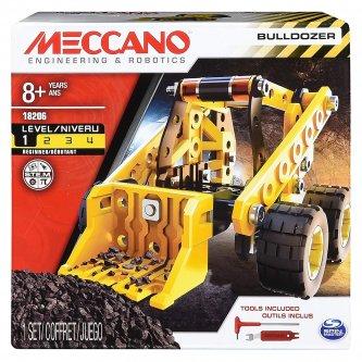 Bulldozer Meccano to be built