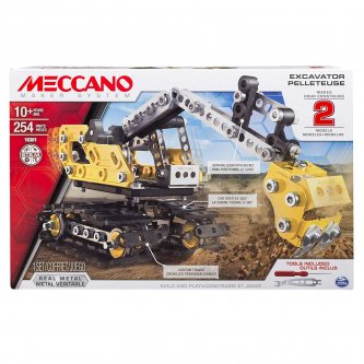 Excavator and Bulldozer Meccano