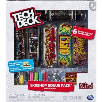 Fingerskate Tech Deck Bonus Pack