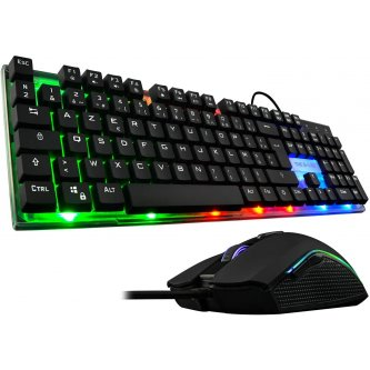 G-Lab Combo Zinc keyboard and gaming mouse
