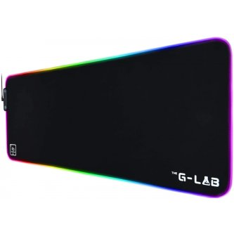 G-Lab Rubidium XXL Backlit Gaming Mouse Pad