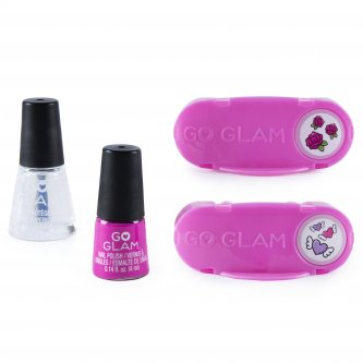Go Glam Nail Stamper Large Refill Pink