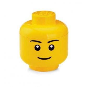 LEGO Storage: Stackable boy Head