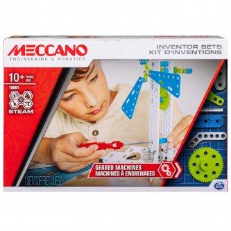 Meccano Set 3 Geared Machines