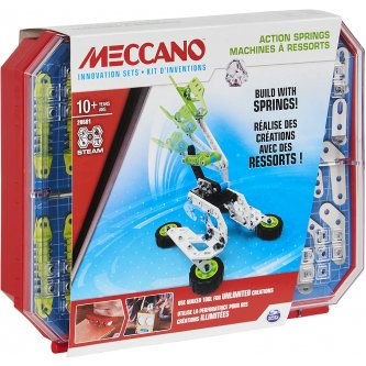 Meccano spring invention kit