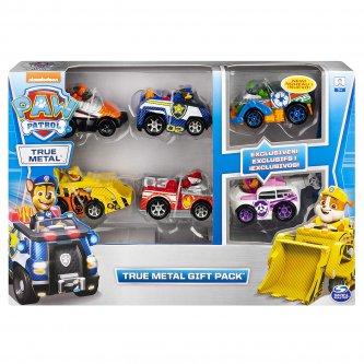 Pack 6 vehicles Paw Patrol True Metal