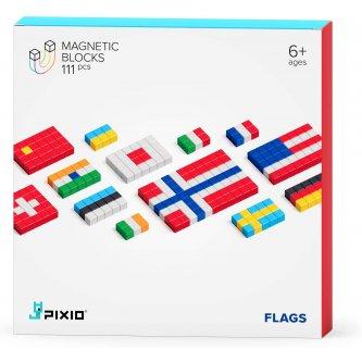 Pixio Flags Magnetic construction set