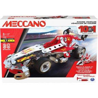 Racing vehicles 10 models Meccano 6060104