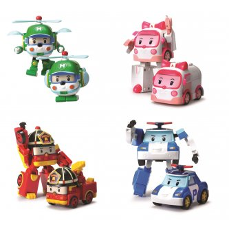 Robocar Poli Transformable Vehicles