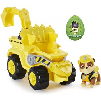Rubble Paw Patrol Dino Rescue Figure and vehicle