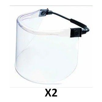 Splash Protector Visor Kit